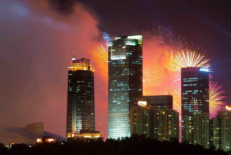 Shenzhen fireworks