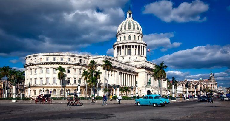 Cuba Landmark Capitol Building Architecture Havana