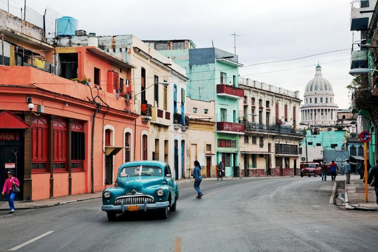 Oltimer Old Car Old Havana Cuba Auto Classic