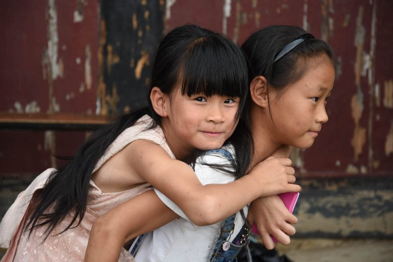 Chinese sisters