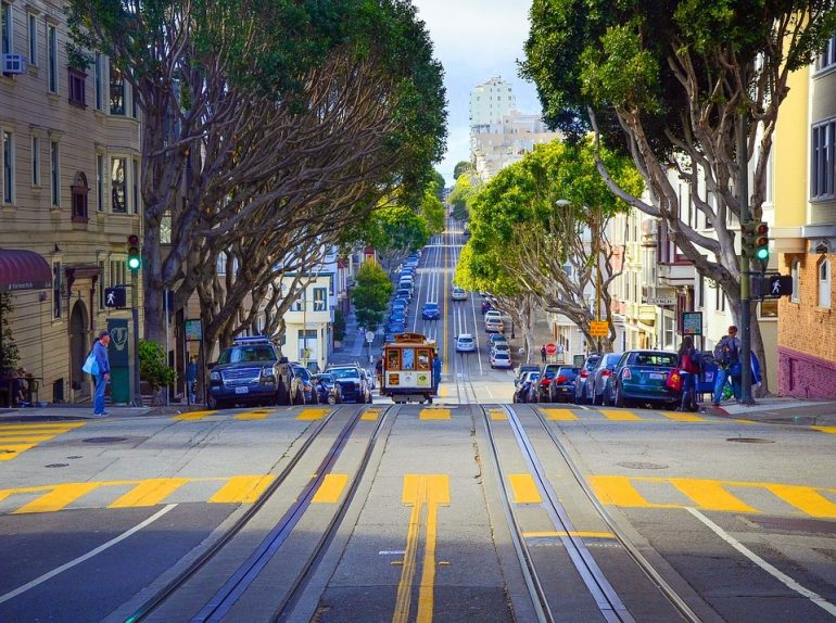 San Francisco road