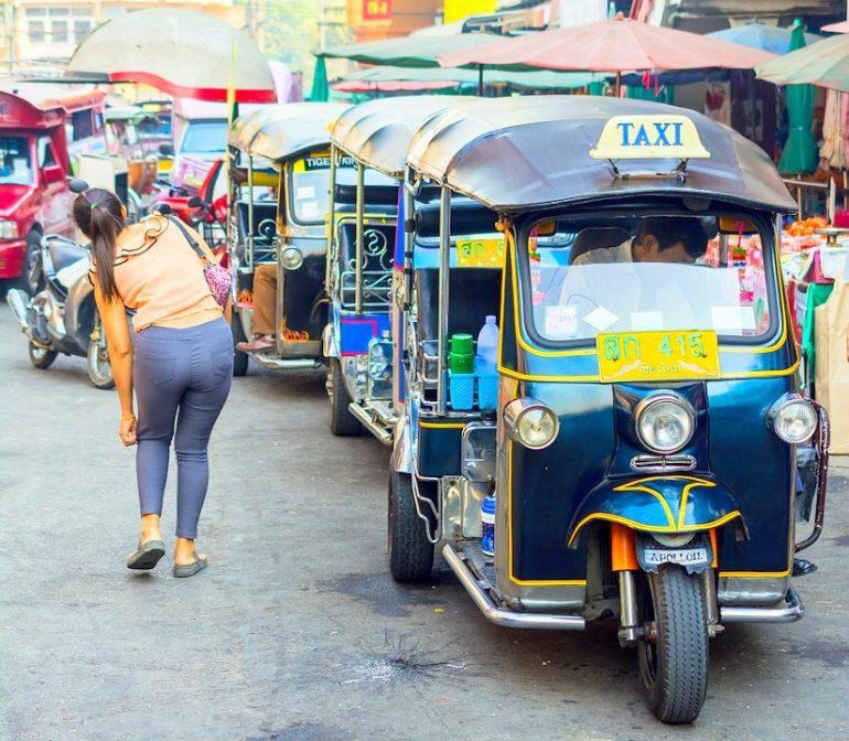 Chiang Mai taxi Thalaind