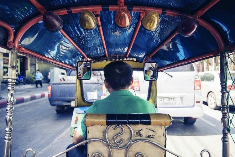 Thailand taxi